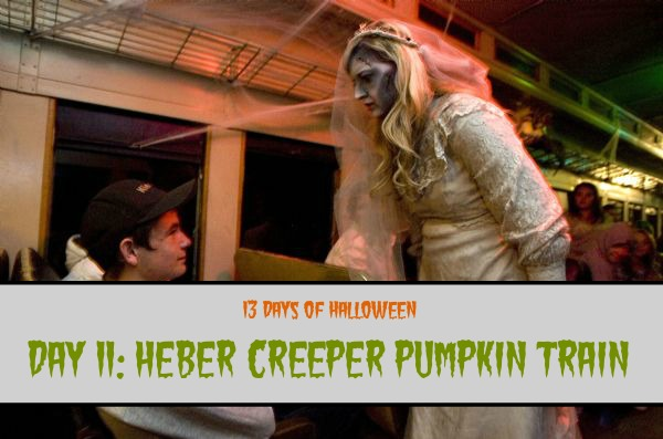 Day 11: Heber Creeper Pumpkin Train