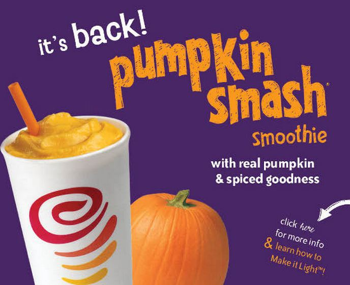 Jamba Juice's Pumpkin Smash