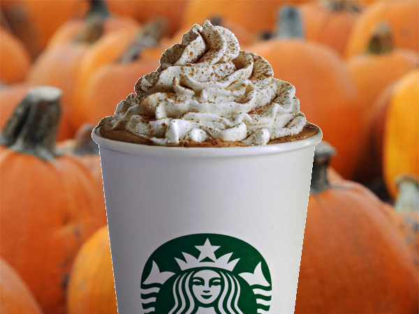pumpkin Spiced Latte from Starbucks