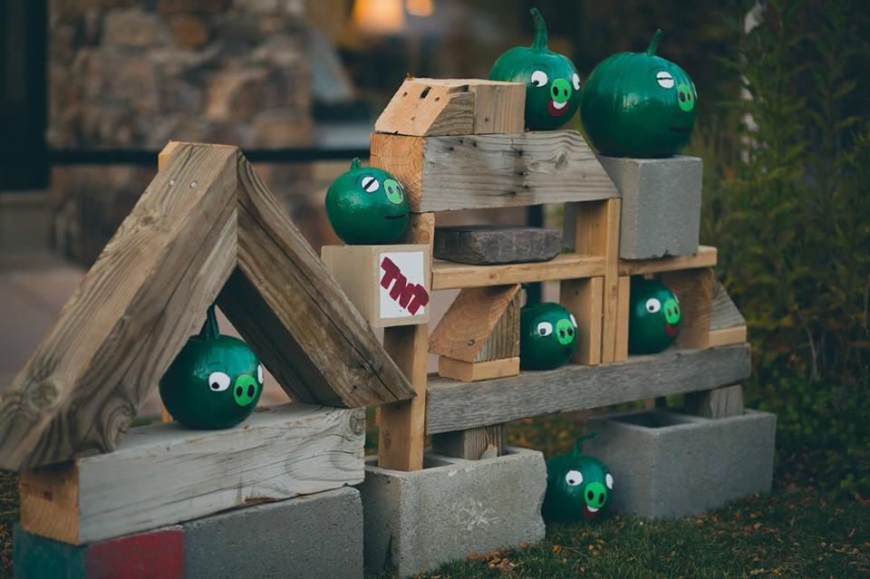 Pumpkin Angry Birds