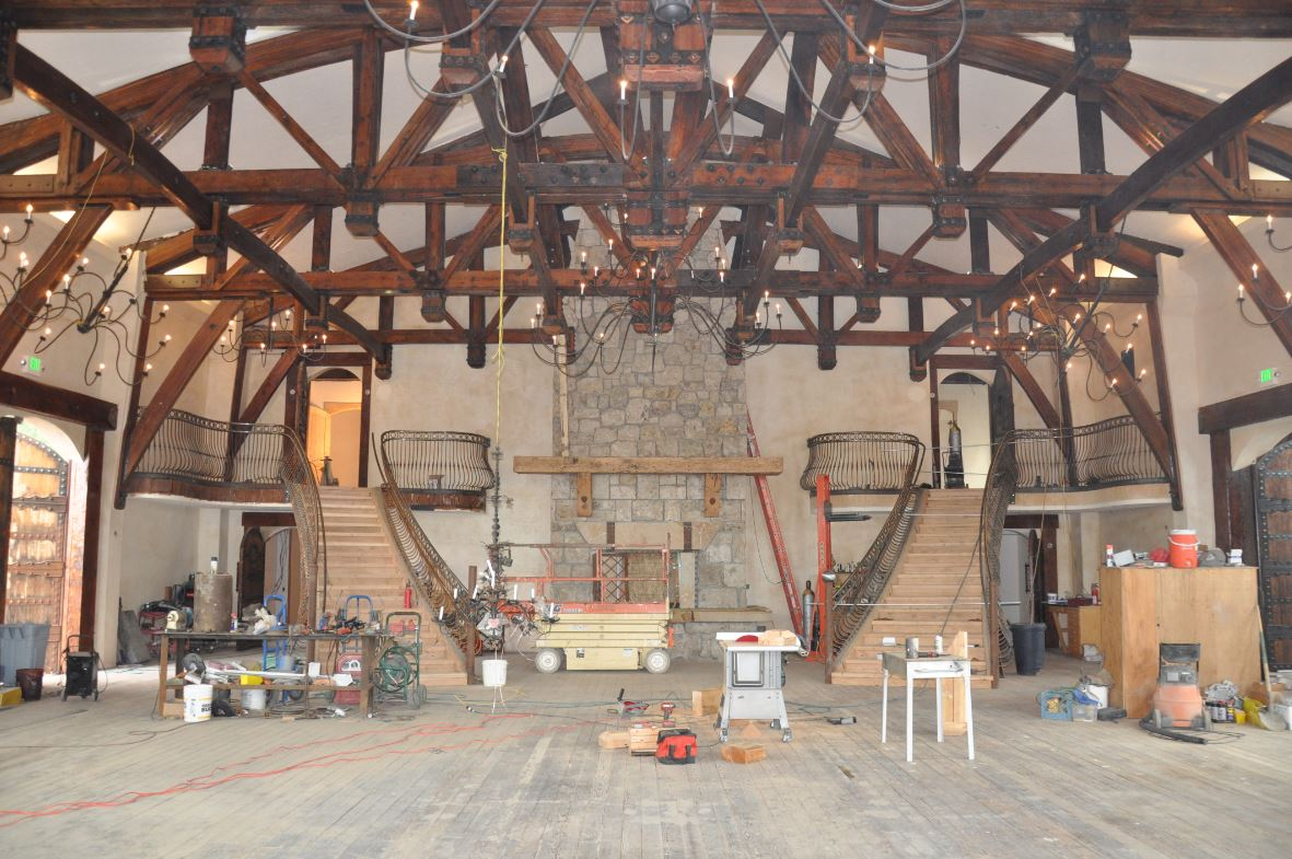 Wadley Farms Castle-Great Hall
