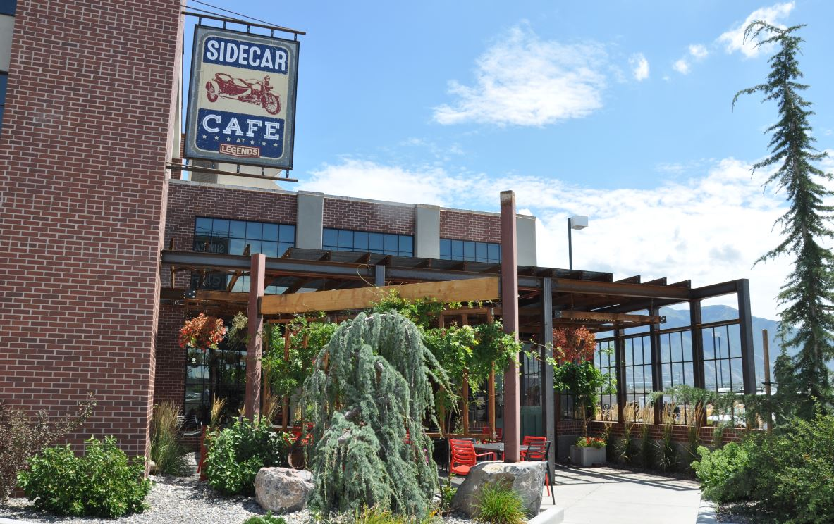 Sidecar Cafe Front Entrance