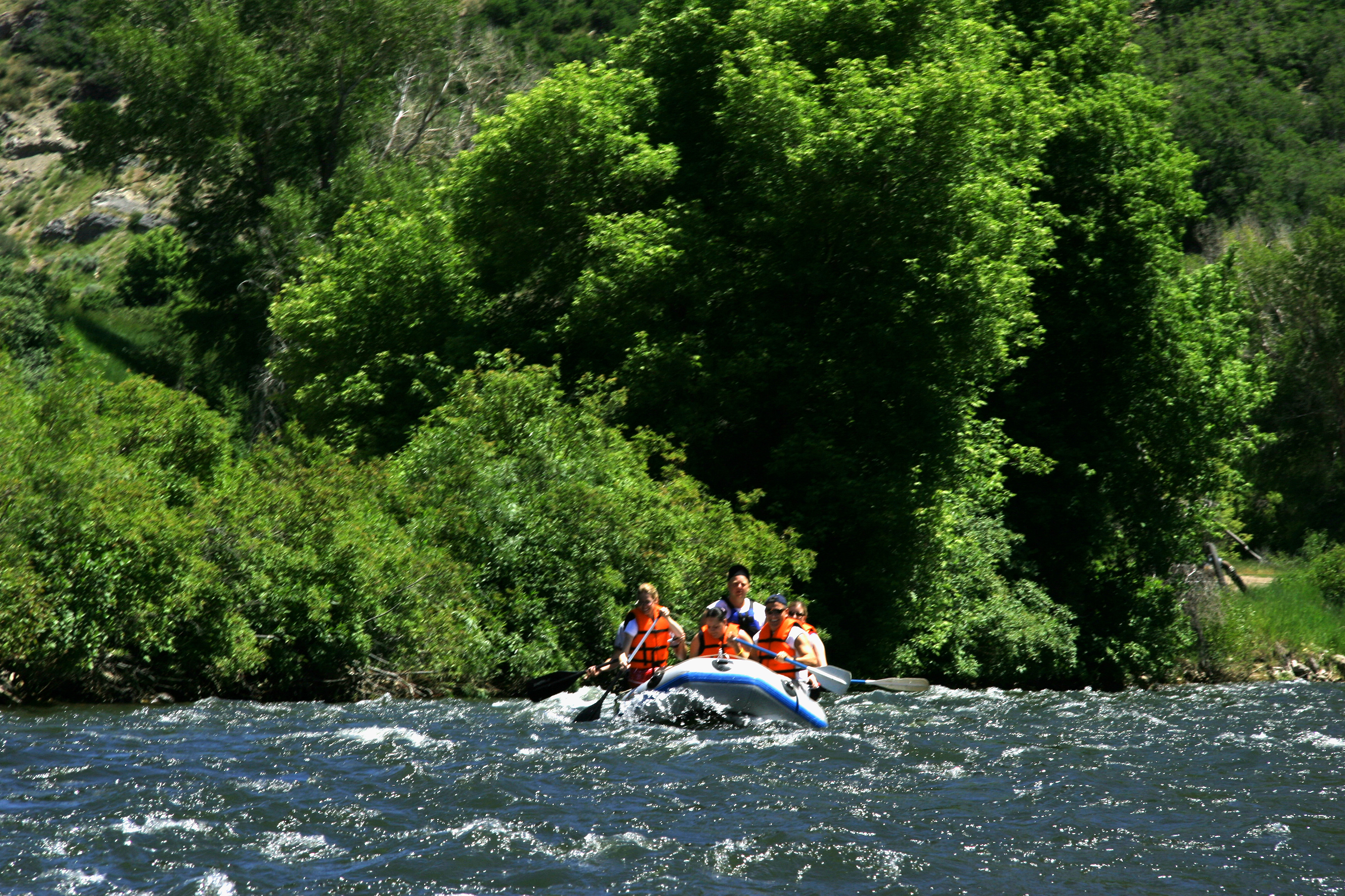 Rafting the Provo River