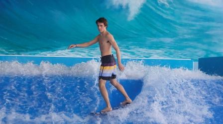 Boy on the Flow Rider
