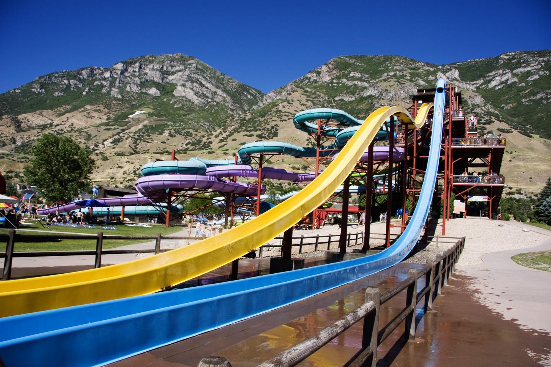 Seven Peaks waterslides