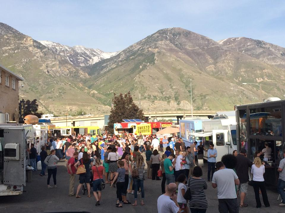 Food Truck Roundup in Provo