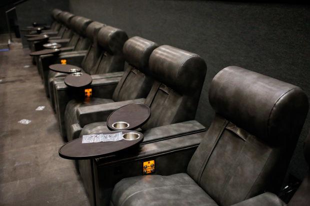 The seats at Megaplex Vineyard
