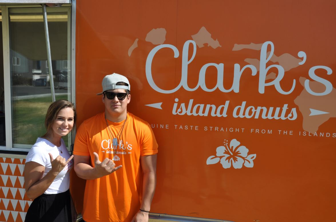 Clark's promises satisfaction with every bite