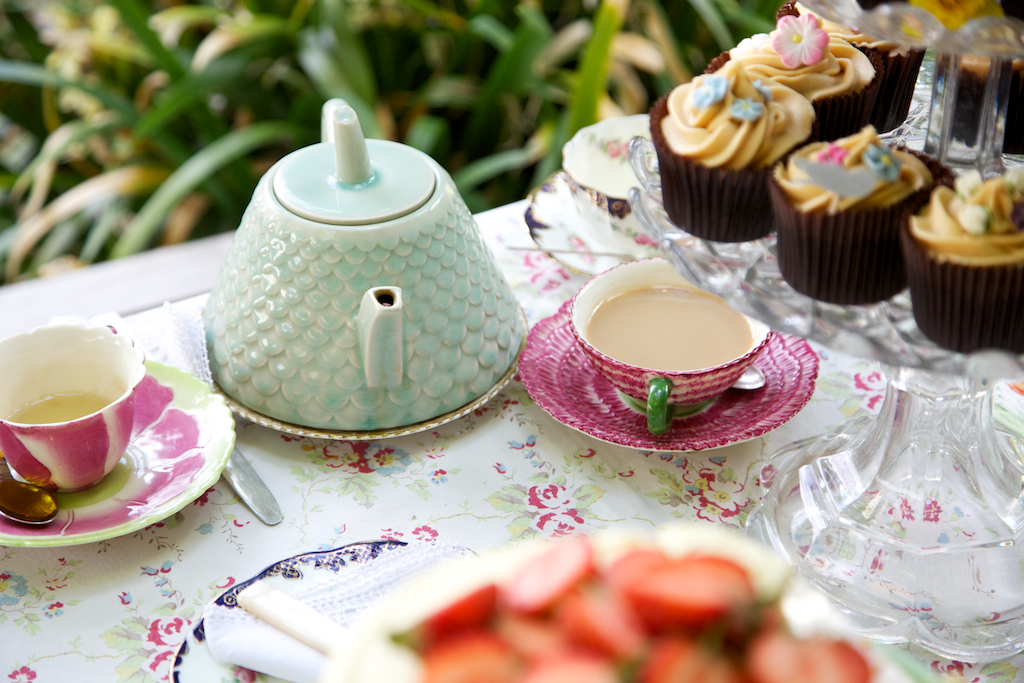 Tea Party at the Bungalow