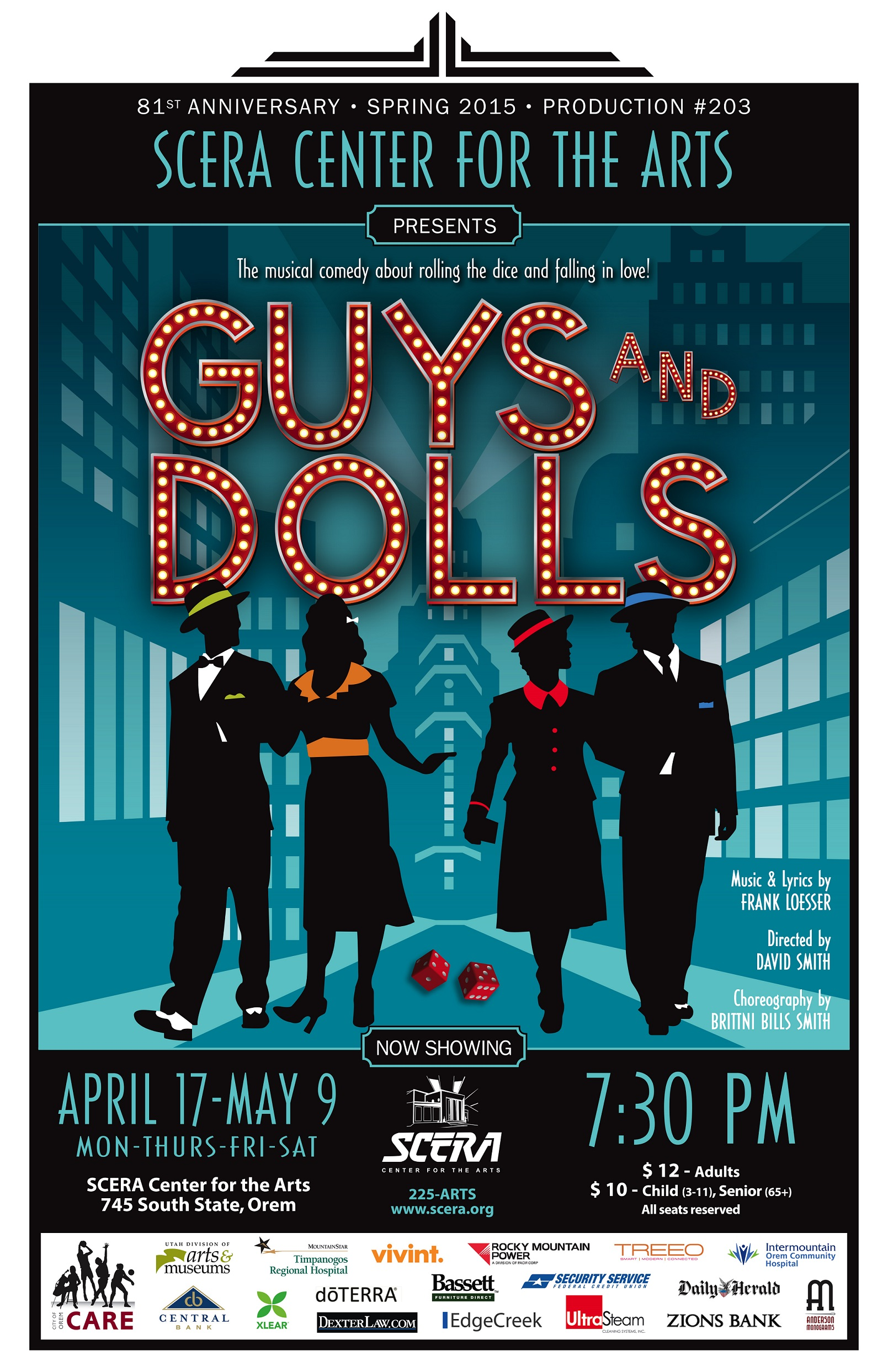 Guys & Dolls at the SCERA