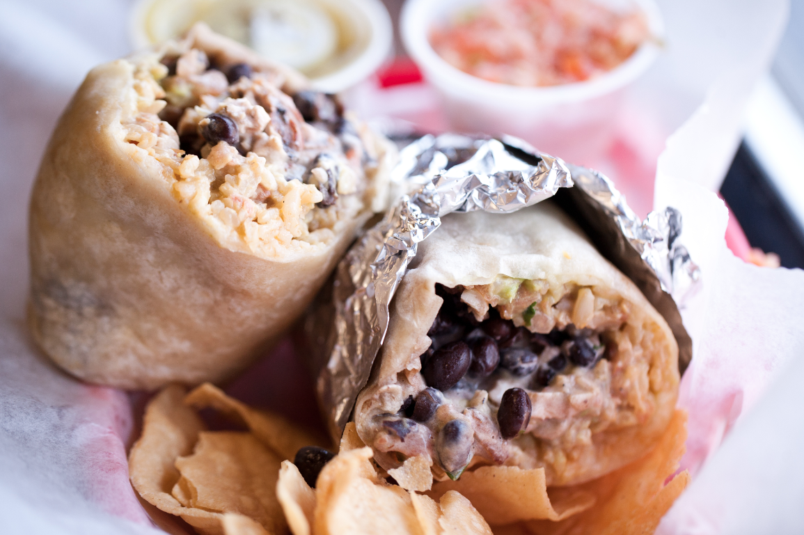 The famous burrito