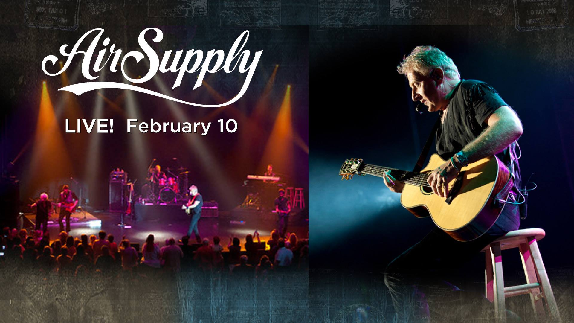 Air Supply at the Covey