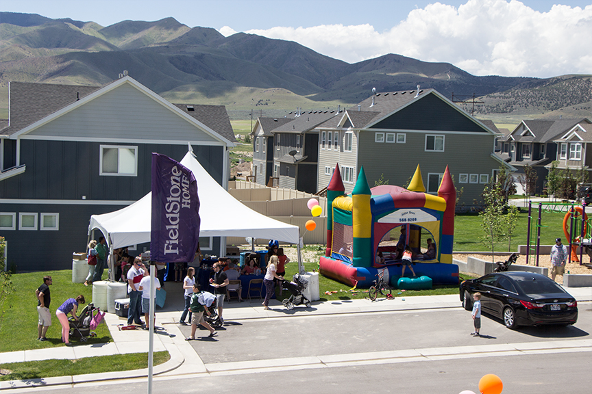Fieldstone Homes Block Party
