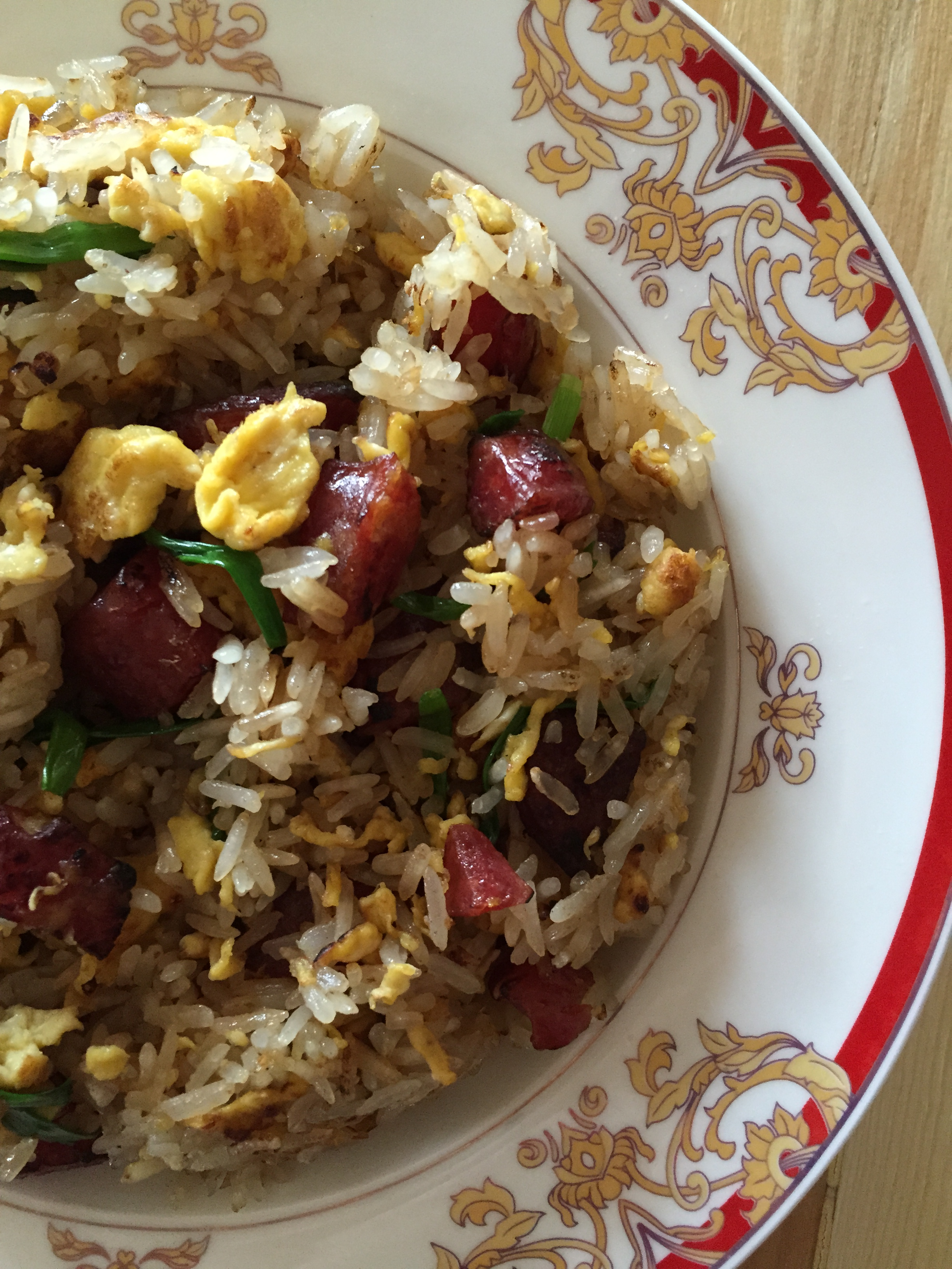 Sausage & Leek Fried Rice