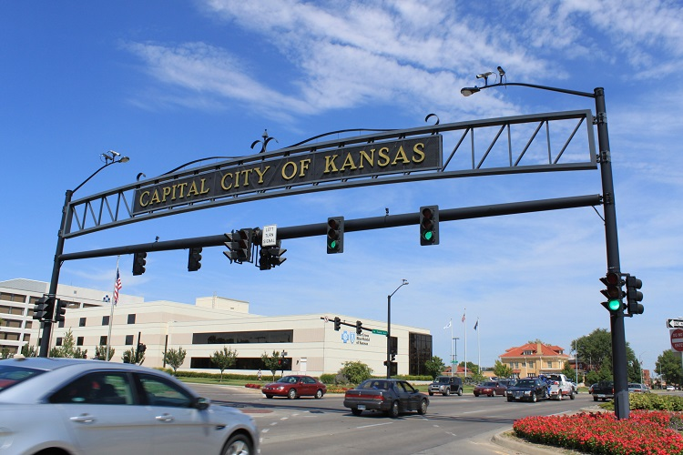 Capital City of Kansas sign
