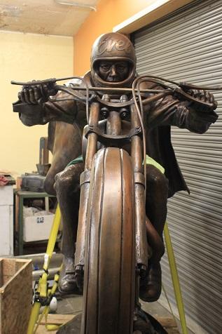 Evel Knievel statue