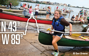 Canoe: Outdoor Adventure at 43° N, 89° W - Madison, WI
