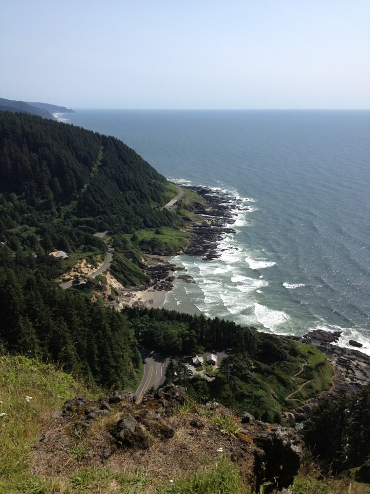 Cape Perpetua by Emily