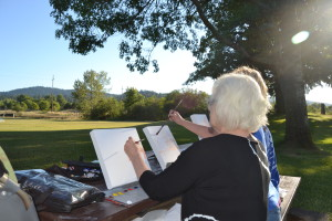 Plein Air Painting Travel Lane County (8)