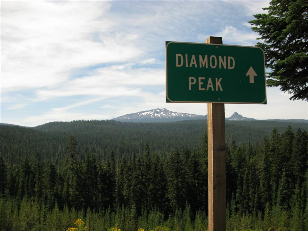 Diamond Peak by brendangates via Flickr