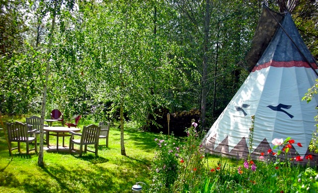 Tipi Village Retreat by Tipi Village