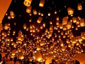 Sky Lanterns Dinner at Pfeiffer Winery