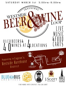 westside beer and wine loop poster