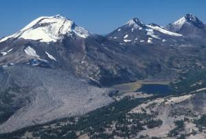 Three Sisters Wilderness from Tam McAarthur Ridge