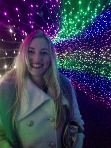 Christmas lights galore at the Village Green Resort & Gardens