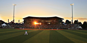 PK Park, home of the Eugene Emeralds