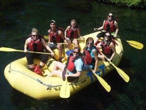McKenzie River whitewater rafting