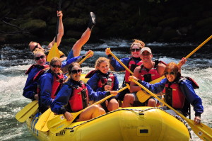 Fun on the McKenzie River