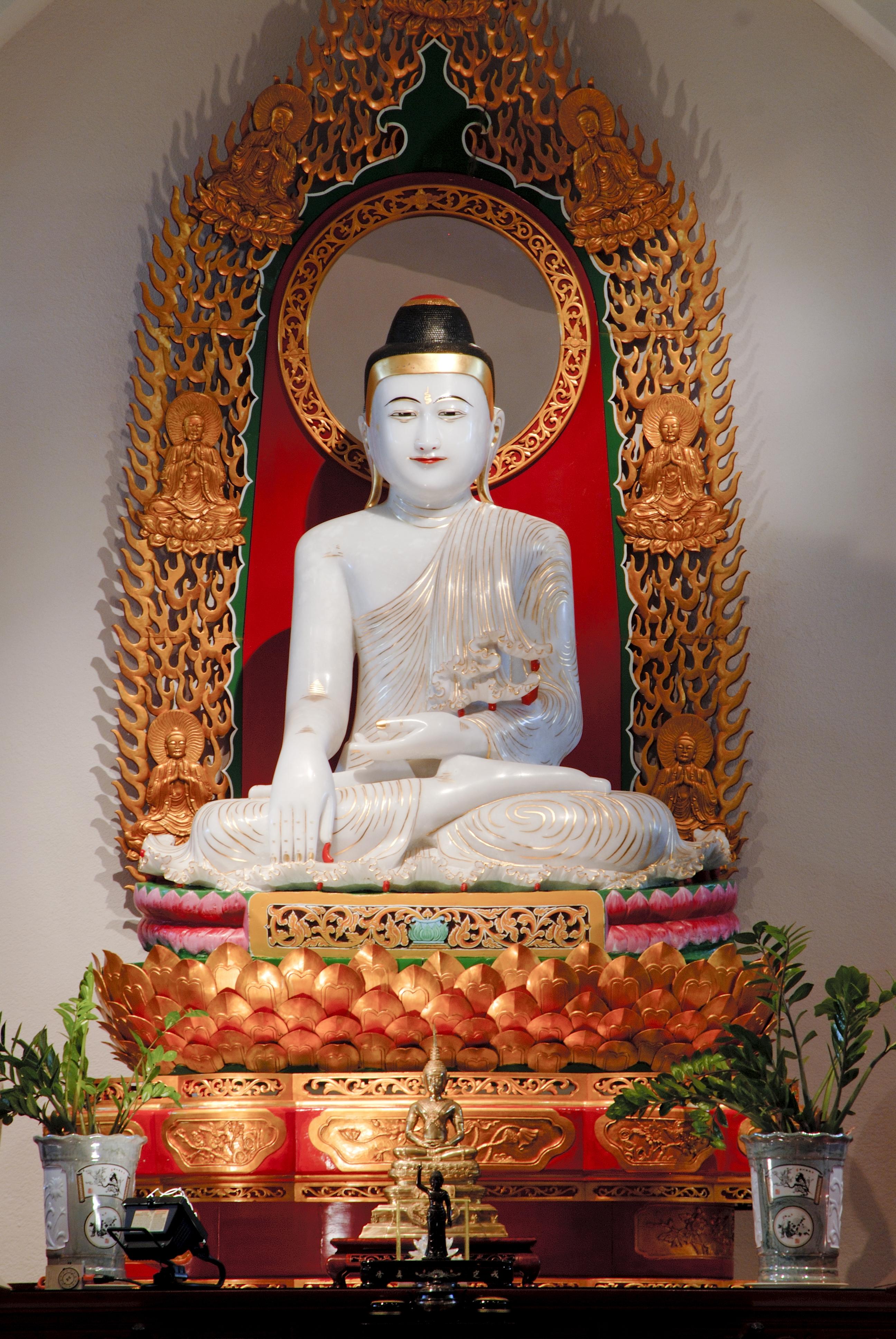 Jade Buddha Sculpture