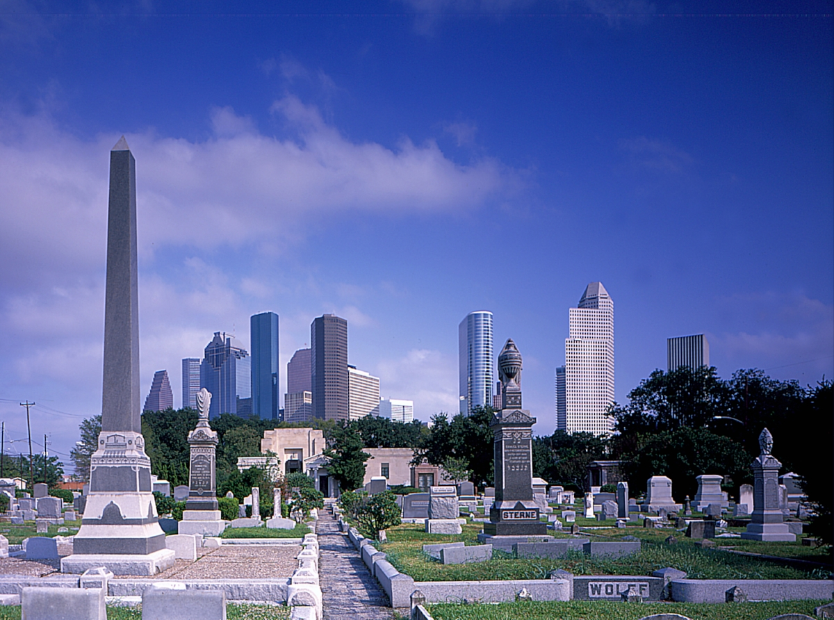 Downtown Skyline from Jewish Cemetary