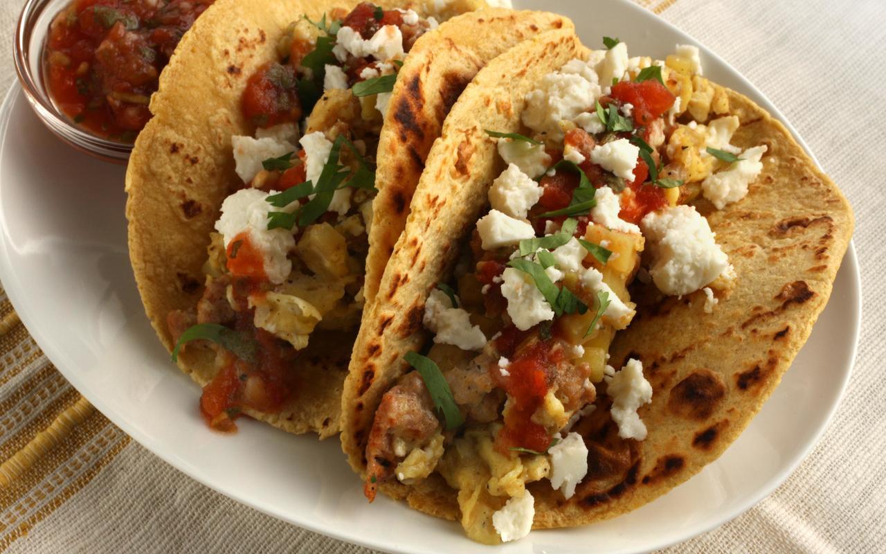 Breakfast Tacos Kolache Pic