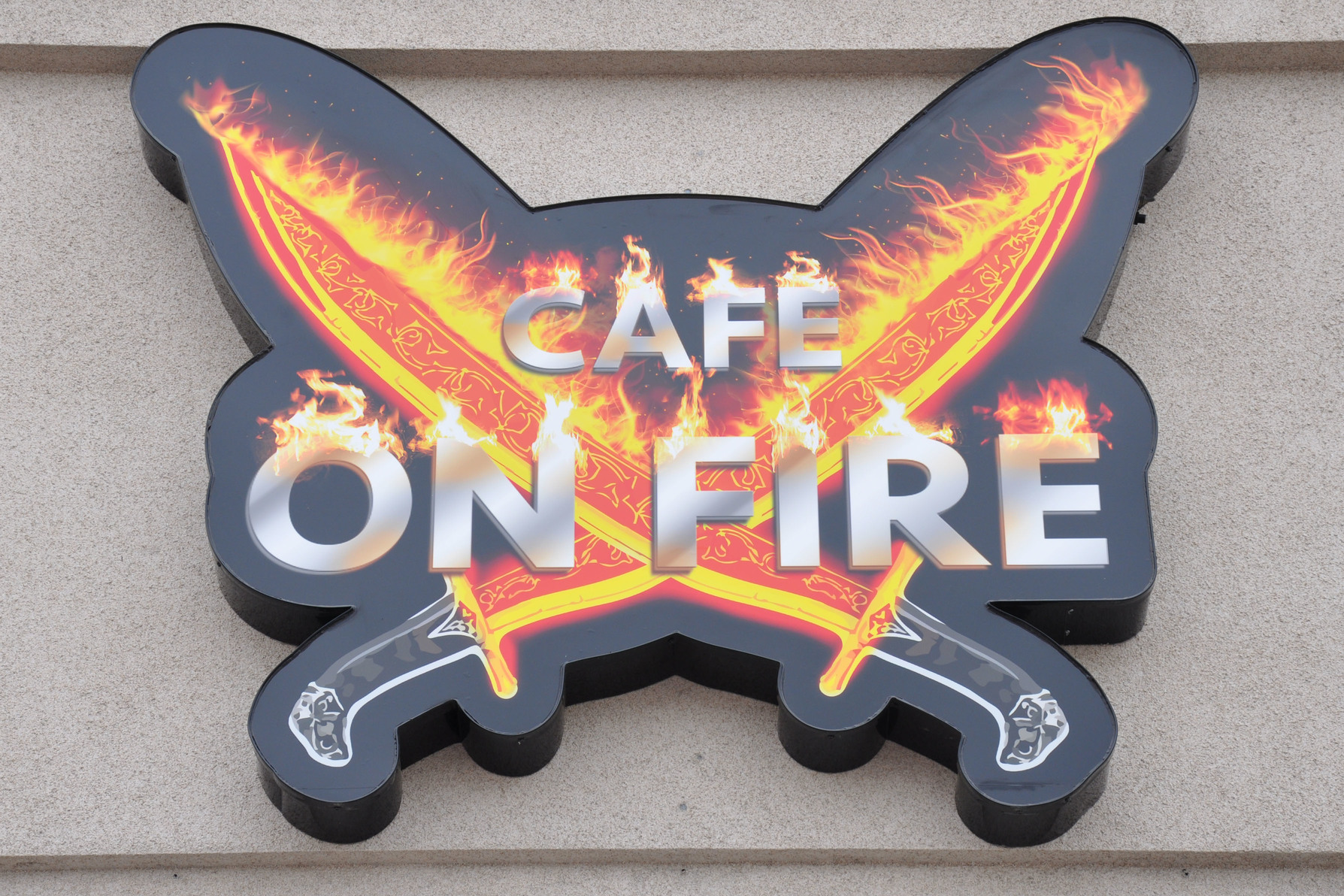 Cafe on Fire logo