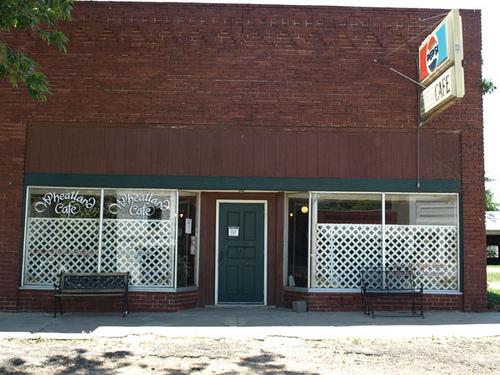 Wheatland Cafe Exterior