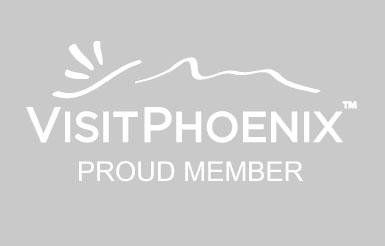 Visit Phoenix Member Logo Gray Example