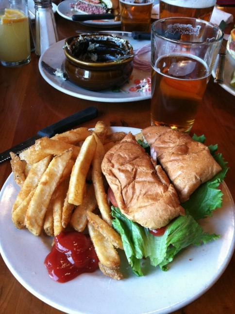 Upland Brewery Vegetarian Sandwich