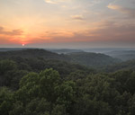 Fire Tower Sunset