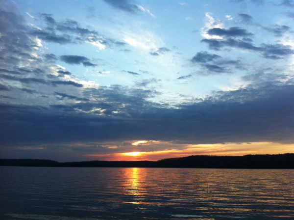 Lake Monroe Sunset. Photo Credit: Noel Niehaus