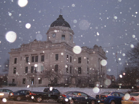 Courthouse Snow