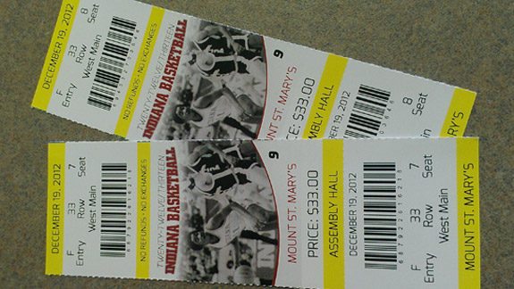IUBB Tickets