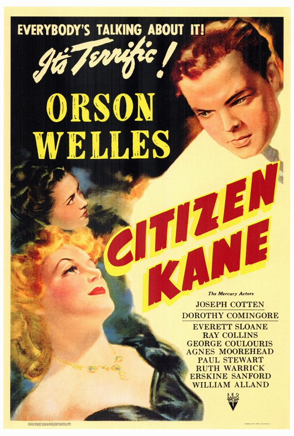 Orson Welles Citizen Kane poster