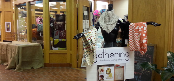 Gathering :a pop up shop: