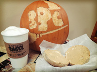 Bloomington Bagel Company fall
