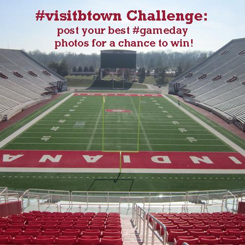 #visitbtown #gameday challenge
