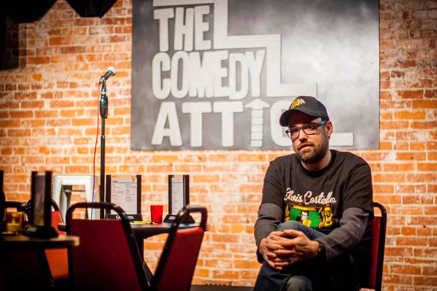 Jared Thompson Comedy Attic