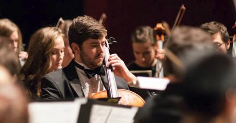 IU Jacobs School orchestra