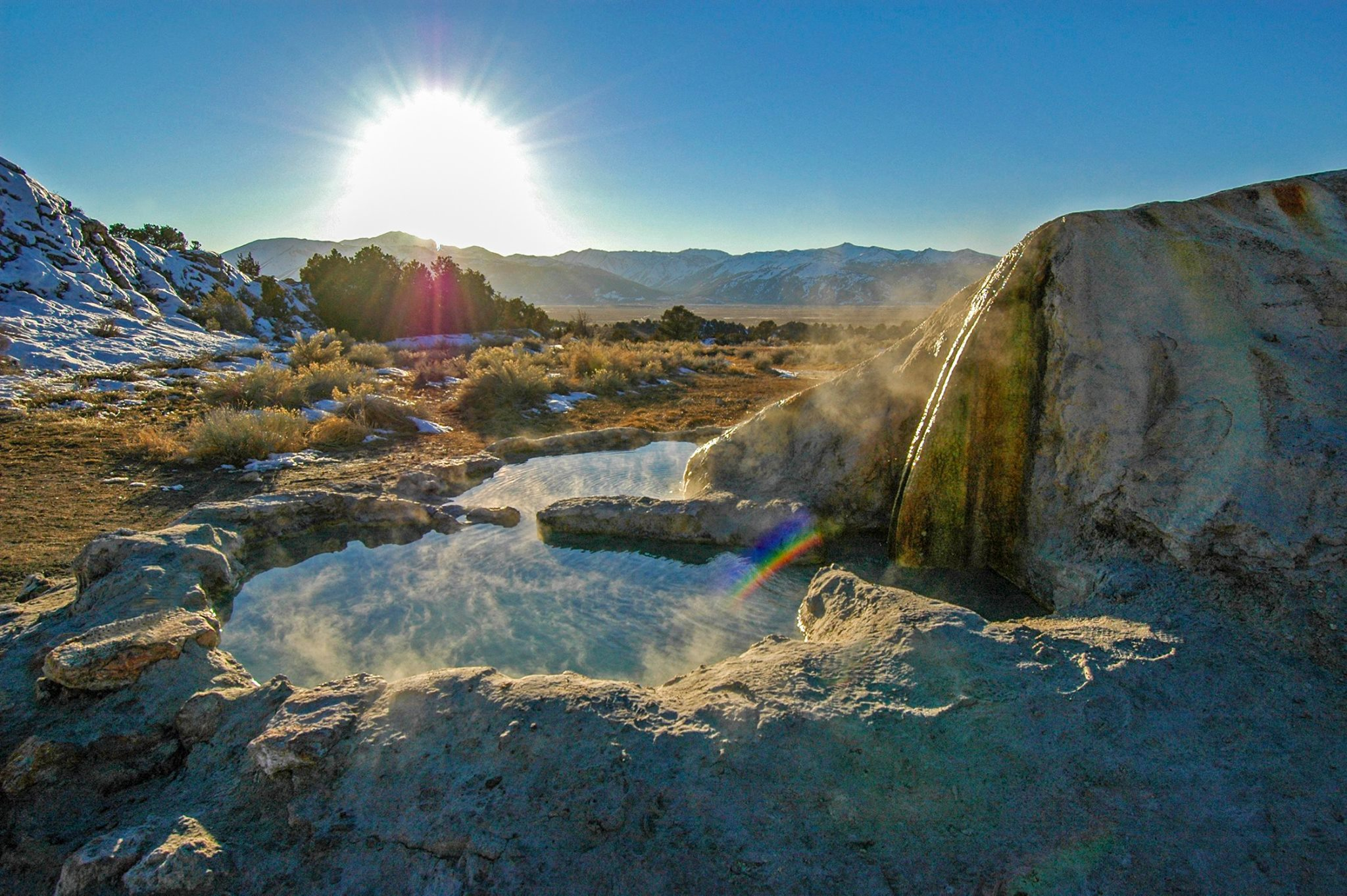 Eastern Sierra Hot Springs - Benton & Travertine - Mono County, CA